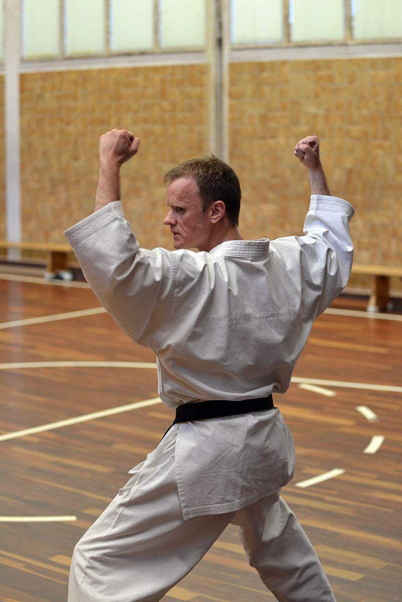 Marius im Training
